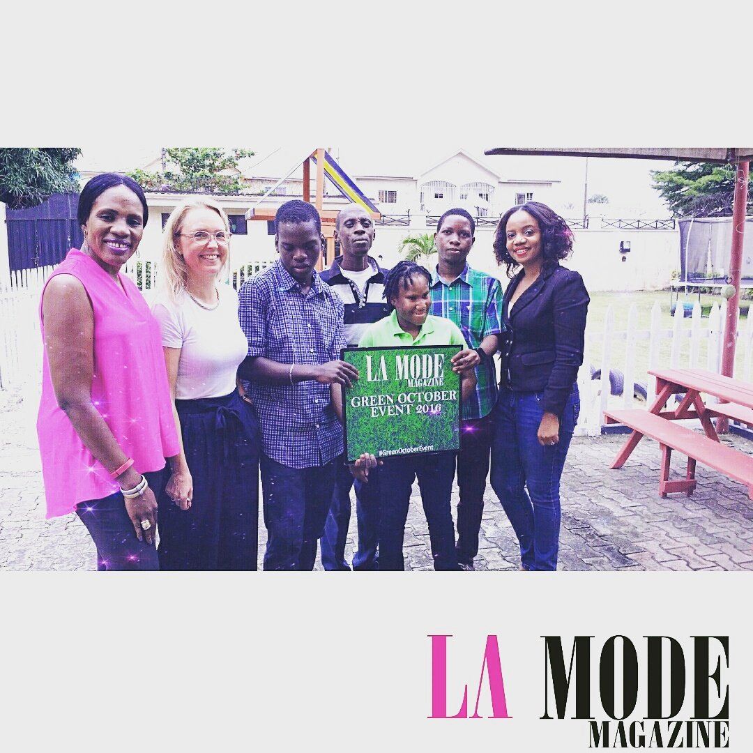 CEO La Mode Magazine Mrs. Sandra Odige's Radiant Made By Trish .O. Couture's Outfit at the Green October Event 2019 Beyond Disabilities forecasting to wear in spring in 2019
