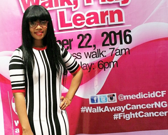 La Mode  Magazine  CEO / Publisher  Mrs  Sandra  Odige  Support  Medicaidcf  To Walk, Play & Learn  For The Fight  Against  Breast  Cancer!
