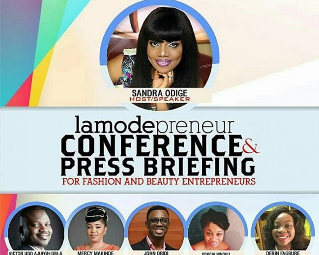 Lamodepreneur Conference & Press Briefing for Fashion & Beauty Entrepreneurs Set To Hold Friday,February 24th ,2017!