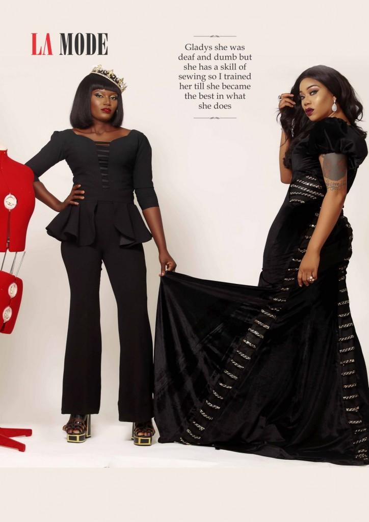 Toyin Lawani & Gladys 2