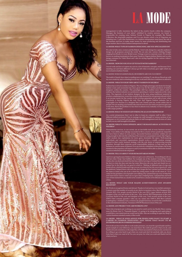 Toyin Lawani Interview