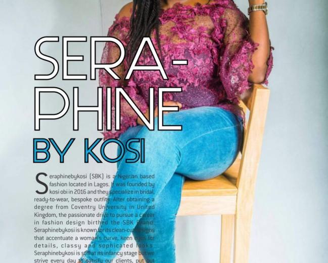 Seraphine By Kosi: La Mode Magazine Editorial Feature 16th edition!