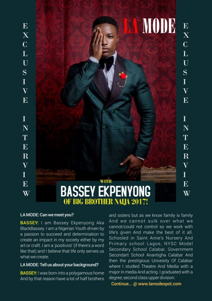 Bassey Interview page