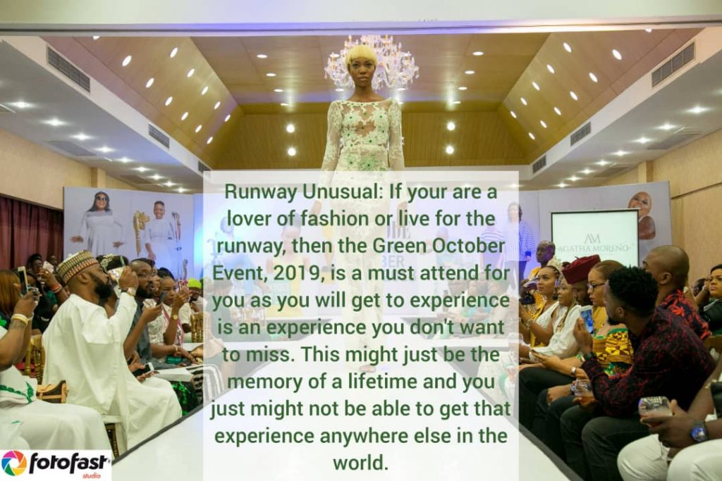 Green October Event Runway