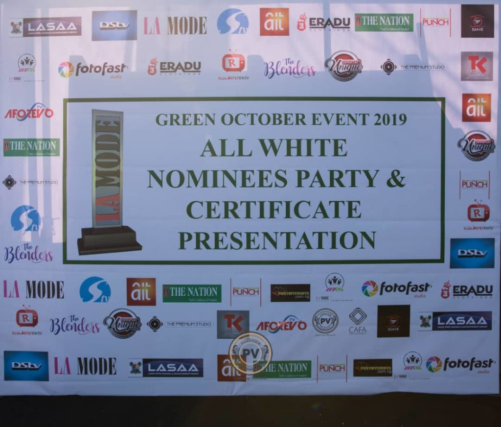 Green October All White Nominees Party