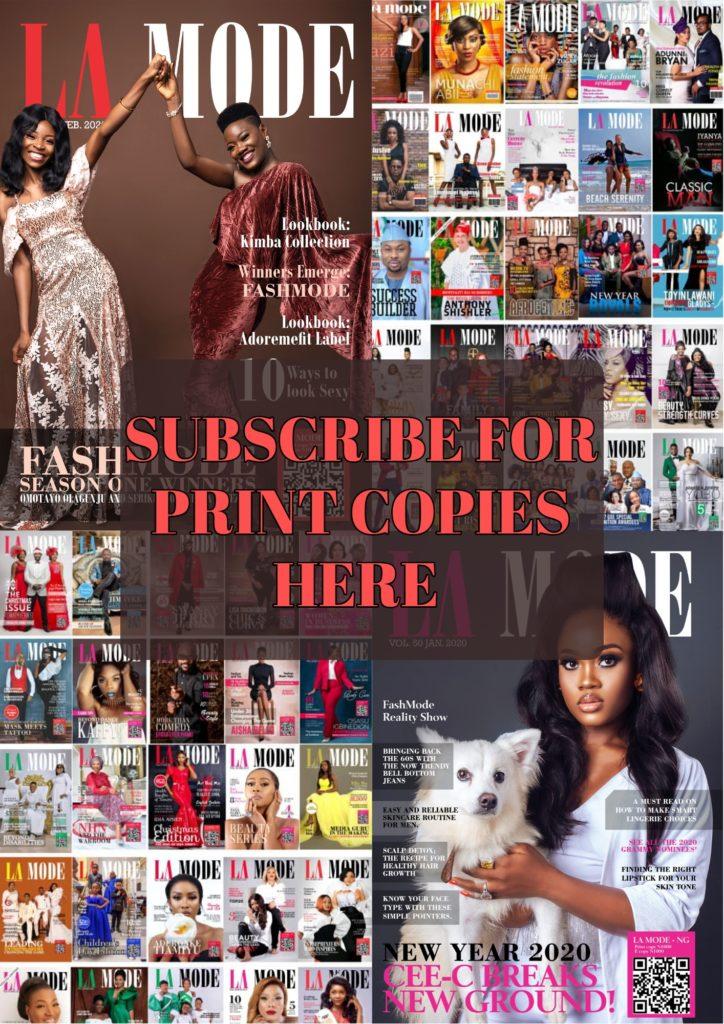 Lamode Magazine Print Copy