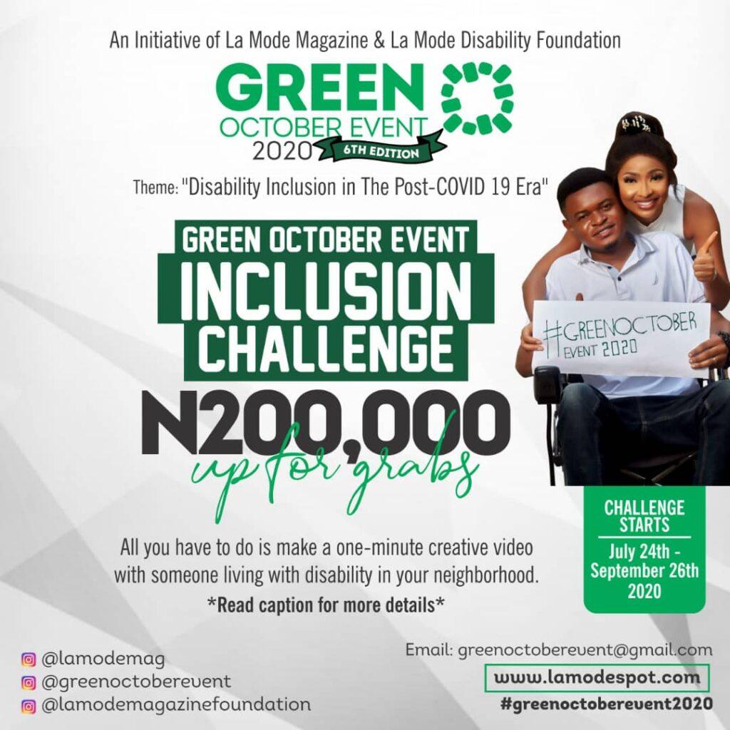 Green October Challenge