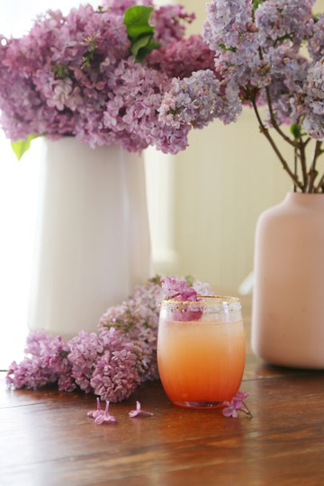 Deco Tartelette's pink lilac margarita for a wedding