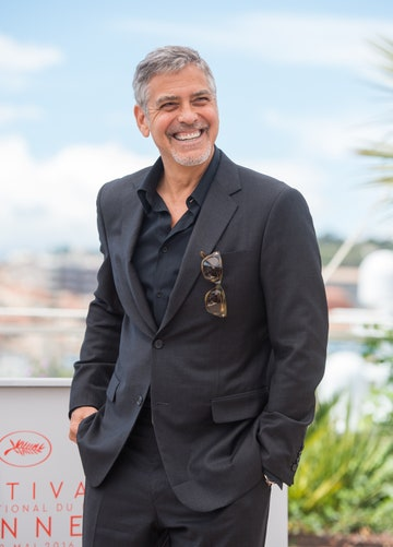 """CANNES, FRANCE - MAY 12: George Clooney attends the """"Money Monster"""" Photocall at the annual 69th Cannes Film Festival at Palais des Festivals on May 12, 2016 in Cannes, France."""