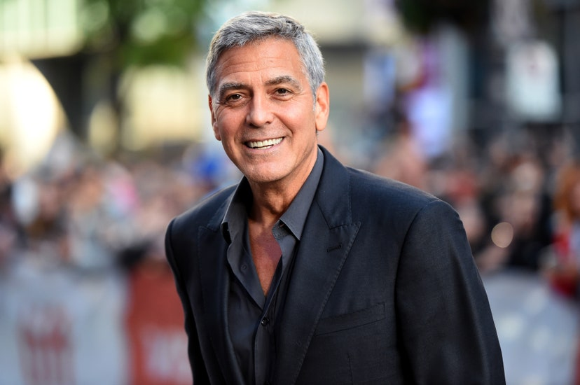 """TORONTO, ON - SEPTEMBER 09: George Clooney attends the """"Suburbicon"""" premiere during the 2017 Toronto International Film Festival at Princess of Wales Theater on September 9, 2017 in Toronto, Canada."""