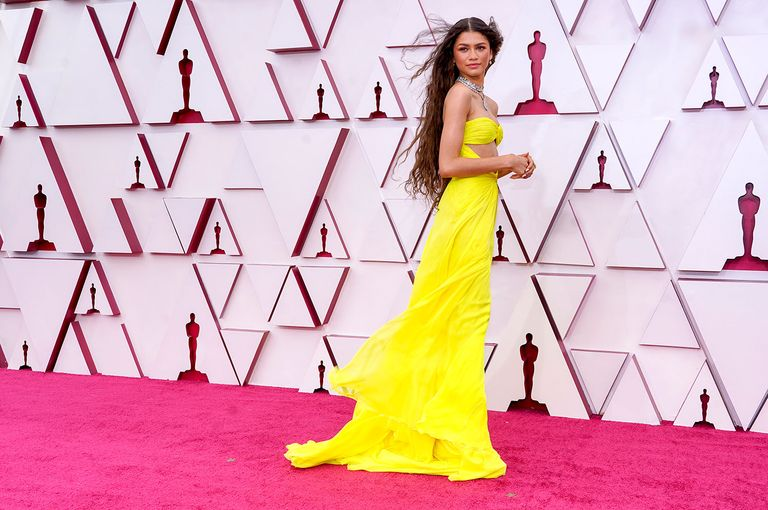 Zendaya's Oscar dress confirms that yellow is not bad luck